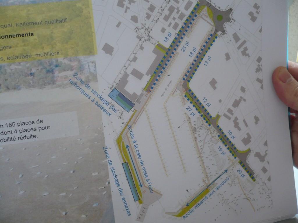 Extension du port de plaisance du Betey 2010