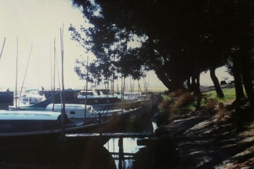 Le port du Betey dans les années 1960