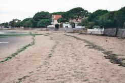 la plage vue du Bétey