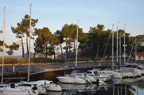 port du Bétey hiver 2016 Les sondages ont été réalisés de l'autre côté