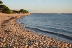 plage du Bétey à marée haute